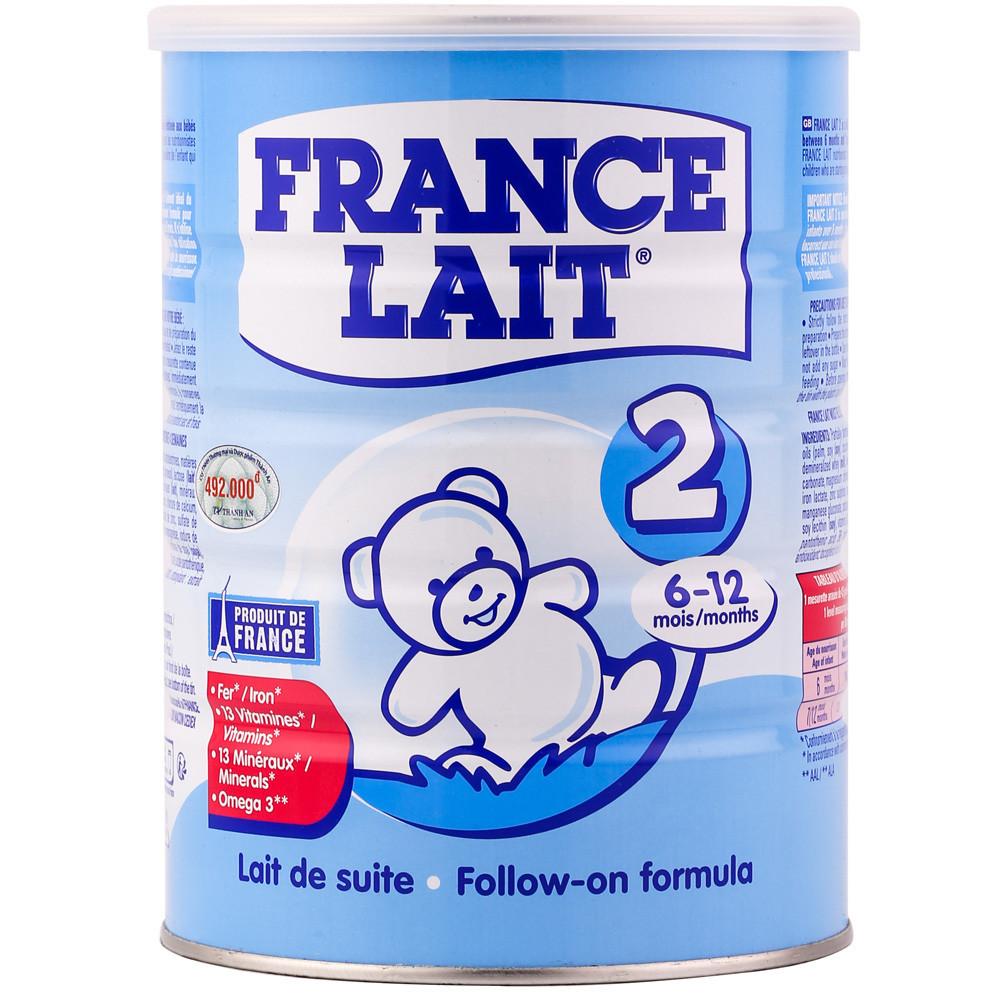 Sữa France Lait tăng chiều cao cho trẻ